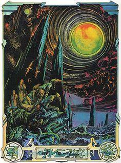Lovecraft: Démons et Merveilles by Druillet http://www.johncoulthart.com/feuilleton/2014/07/22/lovecraft-demons-et-merveilles/