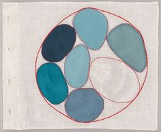 Louise Bourgeois Ode à L'Oubli, 2004 (detail – page 4)Fabric and color lithograph book, thirty-six pages via might be good via scott tennent