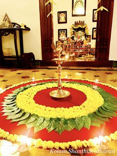 Saved by Jayant G. Rangoli Designs Flower, Small Rangoli Design, Rangoli Ideas, Colorful Rangoli Designs, Rangoli Designs Diwali, Diwali Rangoli, Flower Rangoli, Beautiful Rangoli Designs, Housewarming Decorations