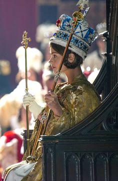 Jenna Coleman as Queen Victoria.
