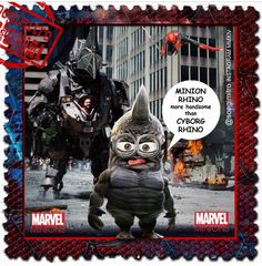 The Amazing SpiderMinions ~ RhinoMinion
