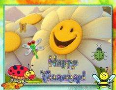 Cute Sunny Happy Thursday