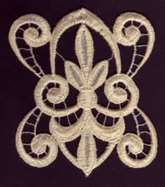 Lace Fleur embroidery design