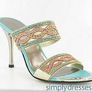 Buy Pink & Blue Couture 3.5 Heel at SimplyDresses