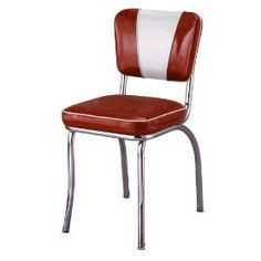 1950's Retro Chrome Diner Chair