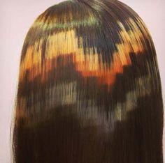 Spanish Hair Studio Develops a Pixel Art Hair Coloring Technique Hair Color Techniques, Colouring Techniques, Shading Techniques, Creative Hairstyles, Cool Hairstyles, Hair Inspo, Hair Inspiration, Hairstyle Color, New Hair