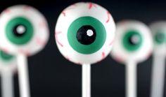 Spooky Sweets: Eyeball Cake Pops