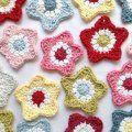 Cath Kidston Crochet Garden Birds - Ruby & Custard
