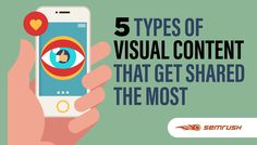 5 Types of Visual Content That Get Shared The Most