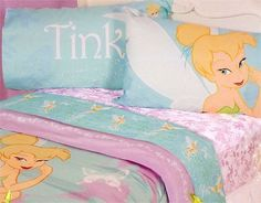 Disney Fairies Tinkerbell Twin Sheet Set - manufacturing at walmart coupon Disney Fairies, Tinkerbell, Kids Bed Sheets, Band Hoodies, Flat Bed, Twin Sheet Sets, Bed Covers, Home Kitchens, Mattress