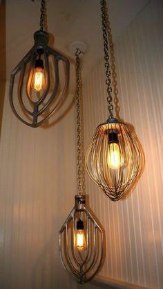 Lamppuja.