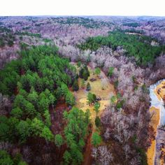 Pine Valley Aerial View. January 2017.