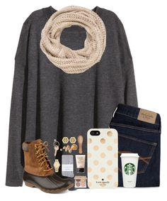"""""""soon the leaves will start to change 🍁"""" by kari-luvs-u-2 ❤ liked on Polyvore featuring H&M, maurices, Abercrombie & Fitch, Sperry, Kate Spade, Anastasia Beverly Hills, NARS Cosmetics, The Unbranded Brand, Johnstons and Tory Burch"""