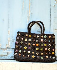 Sophie Digard / wool handbag (S031/3502/S/SS/TURIN/VOLC)