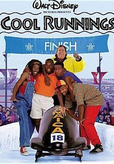 Cool Runnings Directed by Jon Turteltaub. With John Candy, Leon, Doug E. Doug, Rawle D. Based on the true story of the first Jamaican bobsled team trying to make it to the winter Olympics. Running Movies, Running Posters, Family Movie Night, Family Movies, Film Disney, Disney Movies, 90s Movies, Old School Movies, Cult Movies