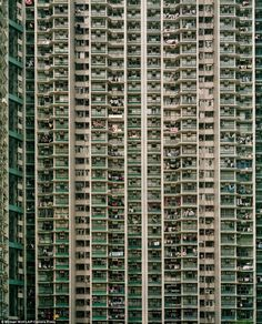 Pile them high: Hong Kong is one of the worlds richest cities, but lurking beneath the prosperity is a housing problem affecting hundreds of thousands of its underprivileged residents