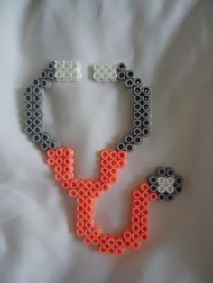 Perler bead Stethoscope by *PerlerHime on deviantART