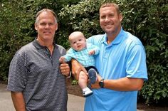 Pittsburgh Steelers~Happy Father's Day....3 generations of Roethlisberger's....very handsome!