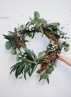 lovely eucalyptus wreath