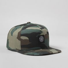 OBEY Clothing Downtown Snapback Cap - Field Camo
