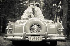 Vintage engagement shoot // jon hartman photography