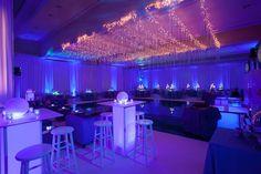 Bat Mitzvah Lighting & Decor (Hotel Ballroom Transformation by The Event of a Lifetime) - mazelmoments.com