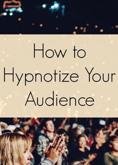Public speaking tips - How to hypnotize your audience - 5 hypnotic techniques to enrapture your listeners. The first thing any good hypnosis trainer will. Public Speaking Activities, Public Speaking Tips, Presentation Skills, Business Presentation, Presentation Folder, Presentation Design, Hypnotize Yourself, Social Entrepreneurship, Hypnotherapy