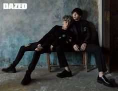 Ravi & Leo (VIXX) - Dazed & Confused Magazine September Issue '16