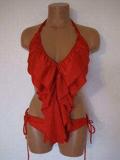 WHY CANT I BE SKINNY??!!  i want to be able to wear this!! not fair! best bathing suit ive ever seen.