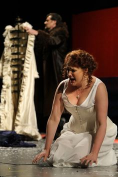 James Westman, Susanna Phillips as Enrico and Lucia in the Minnesota Opera production of Lucia di Lammermoor    © 2012 Michal Daniel