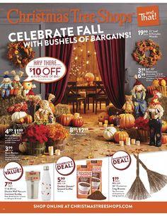 Christmas Tree Shops Ad September 8 - 18, 2016 - http://www.olcatalog.com/home-garden/christmas-tree-shops-ad.html
