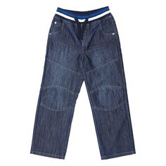 Younger Boys Ribbed Waistband Jeans