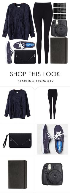 """""""Untitled #25"""" by dreaming-wonderland ❤ liked on Polyvore featuring Chicnova Fashion, Miss Selfridge, American Eagle Outfitters, Moleskine and Monki"""