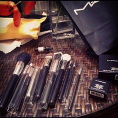 My new Mac make up!