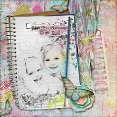 """DREAMS"" from the gallery at Real Life Scrapped Made with Studio Mix #60: Give Your Dreams A Loving Home By Studiogirls"