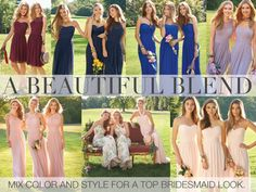 The Camille La Vie Bridesmaid Dress Collection! Fact: Wedding planning can be stressful, and attempting to please all involved is nothing if not impossible, especially where the bridal party is concerned.  Varied schedules and diets and plus ones; oh my!  Add in pressure to find a flattering bridesmaid dress for different heights and body types and eloping in Vegas is suddenly very promising. #camillelavie