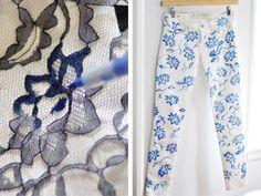 10 maneiras simples de transformar a sua calça jeans