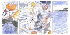 Meerleser Nr. 19: #IslaVolante #comics #watercolor Graphic Novel, Watercolor, Comics, Painting, Art, Islands, Literature, Island, Idea Paint