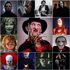 Horror Movie Villains