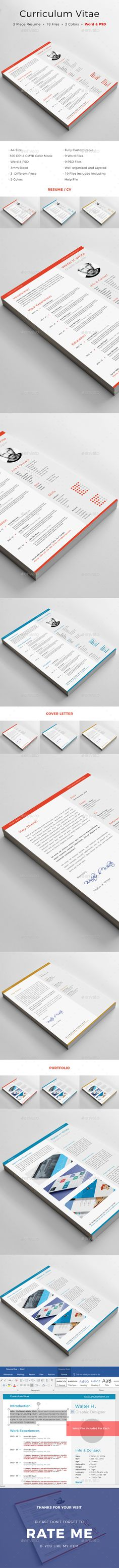 CV Clean Resume Cleaning, Cv ideas and Simple resume template - clean resume design