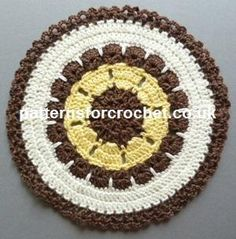 Free Fancy Doily Crochet Pattern