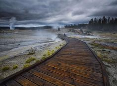 #Mid Way Geyser Basin in #Yellow Stone National park,