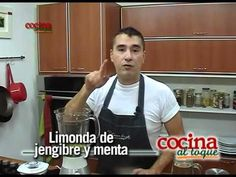 Limonada de gengibre y menta - YouTube