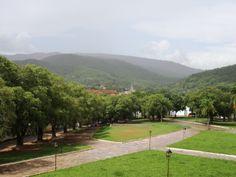 Vista do andar superior do Museu das Bandeiras - Cidade de Goiás - GO - Brasil.