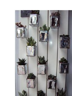 Jard n vertical on pinterest interiors google and - Crea decora y recicla ...
