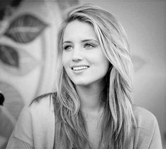I honestly don't know much about her in real life, but Dianna Agron's character Quinn Fabray on Glee inspires me. Quinn is a great character that has to go through so much! Even though Quinn has her moments, she overall is a great character!