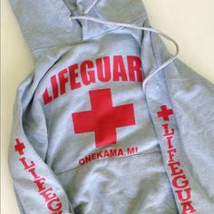 Lifeguard Sweatshirt No stains or flaws. Size xsmall lifeguard Sweaters