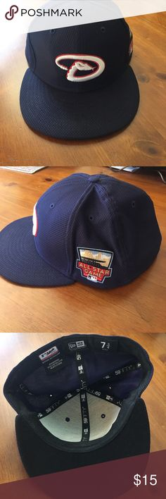 134858e964480 MLB Hat Arizona Dbacks Gently used fitted hat. Make an offer or ask a  question