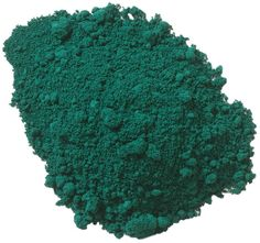 The Earth Pigments Company, LLC - Mayan Green, $6.75 (http://www.earthpigments.com/mayan-green-pigment/)