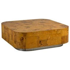 Burrwood Coffee Table by Paul Evans, Signed, 1970s